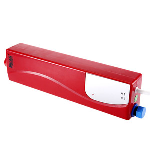 Image 2 - Anında elektrikli Mini haznesiz su ısıtıcı sıcak ani su isıtıcı sistemi için mutfak banyo duş 220V 3000W ab tak