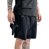 PUPIL TRAVEL PT 2010 hip hop cargo shorts mens 2020SS summer multi pockets casual knee length short pants men joggers streetwea