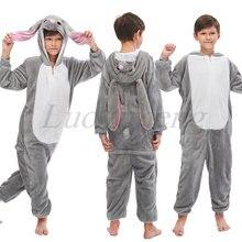 Пижама кигуруми детская единорог панда