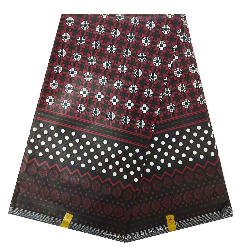 2020 New African Super Jave Wax Fabric For Suits Netherlands Block Prints Ghana Wax Materials Nigerian Pange Batik Clothes