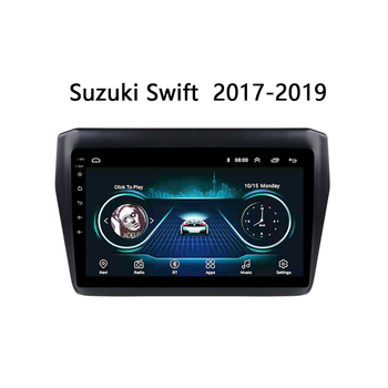 """Car radio For Suzuki Swift 2017 2018 2019 multimedia system GPS navigation 2.5D touch screen GPS player SWC FM TV Android 8.1 9"""""""