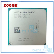 Amd Athlon 200GE X2 200GE 3.2 Ghz Dual-Core Quad-Draad Cpu Processor YD200GC6M2OFB Socket AM4