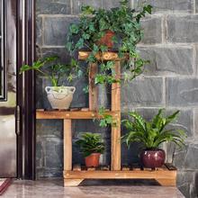 Многослойные деревянные полки для растений садовое растение, цветок подставка для горшка полка для детской дисплей стеллаж с полками садовые полки на открытом воздухе
