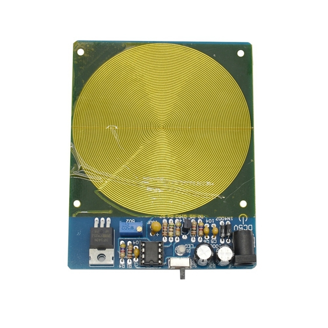 Dc 5V 7.83Hz Precision Schumann Resonance Ultra Low Frequency Pulse Wave Generator Audio Resonator with Box Finished Board