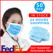 surgical Disposable mask protective mask 3-Ply mouth face mask PM2.5 Nonwoven Mask Anti Virus Protection Face Mask fast express