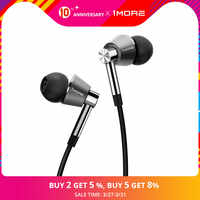 1MORE Triple Driver In-Ear Earphones Earbuds for iOS and Android Xiaomi Phone Compatible Microphone and Remote E1001
