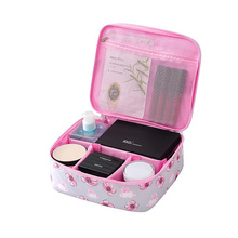 цена на New Cute portable waterproof cosmetic bag large capacity travel toiletries bag wash Supplies storage bags makeup case XYLOBHDG