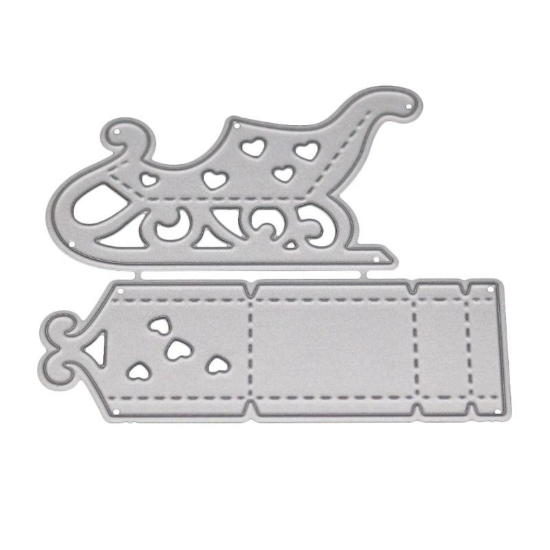 Sled Metal Cutting Dies  Stencils for DIY Scrapbooking DIY Paper Cards Craft …