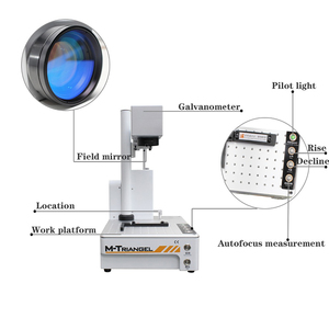 Image 2 - M Triangel סיבי לייזר 20W פוקוס אוטומטי חריטת מכונת עבור טלפון X XS XSMAX 8 8P 11 אחורי זכוכית להסיר לייזר הפרדת מכונת