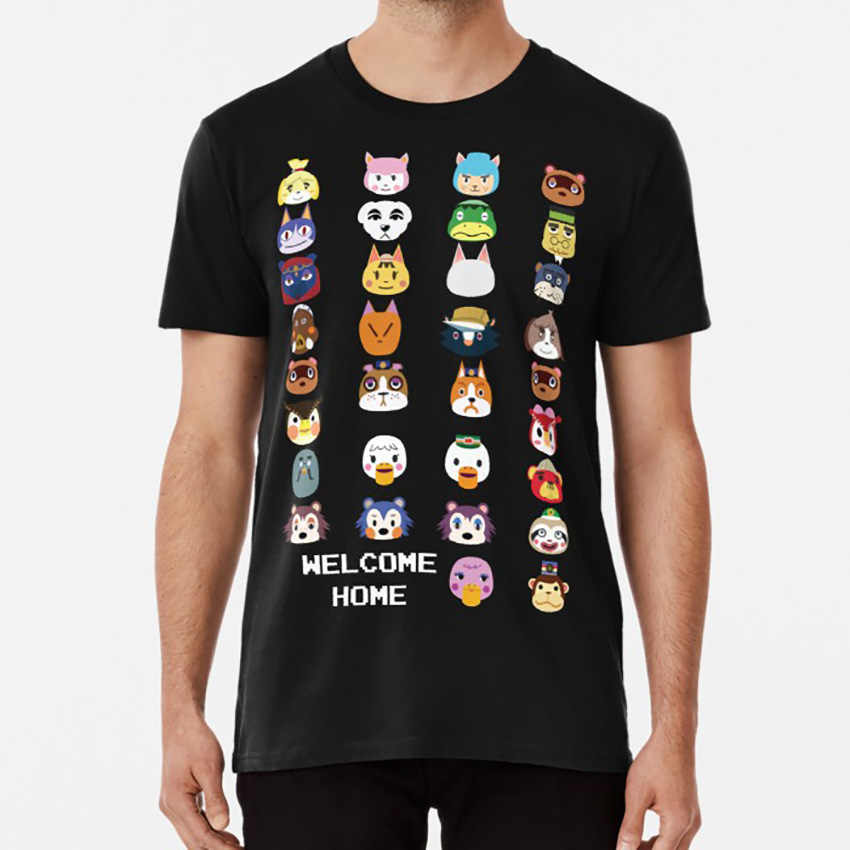 Benvenuti A Casa T shirt animal crossing animal crossing new leaf acnl tom nook tortimer kk cursore totakeke giappone 3ds