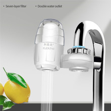 Tap Water Purifier Kitchen Faucet Washable Ceramic Percolator Mini Water Filter Filtro Rust Bacteria Harmful Removal Household 4