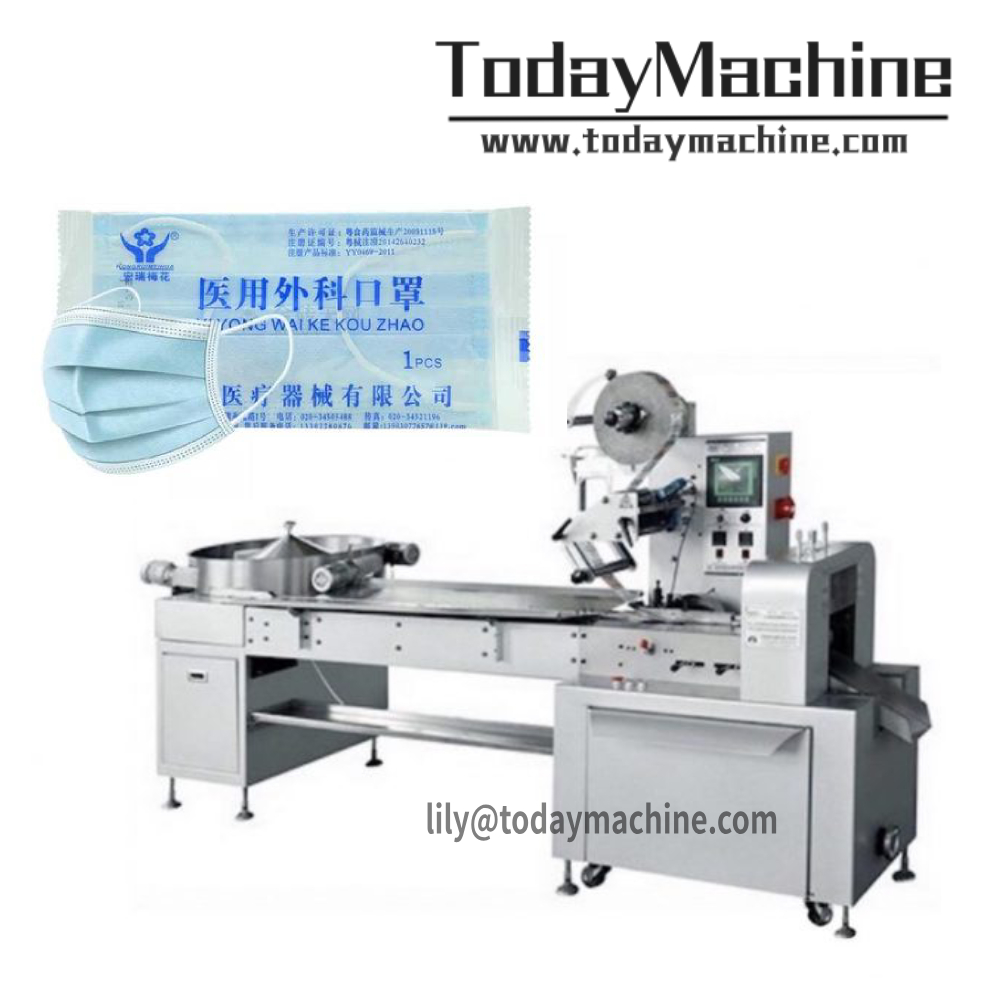 Automated Disposable Dust Mask Packaging Machine