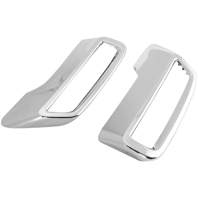 Car Rear Exhaust Muffler For Peugeot 5008 3008 3008GT 2017 2018 2019 Tail End Pipe Decorative Cover Trim ABS Chrome Modification