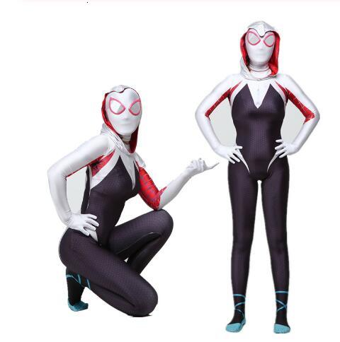 Spider-Gwen jumpsuit Gwen Stacy cosplay costume jumpsuit custom made