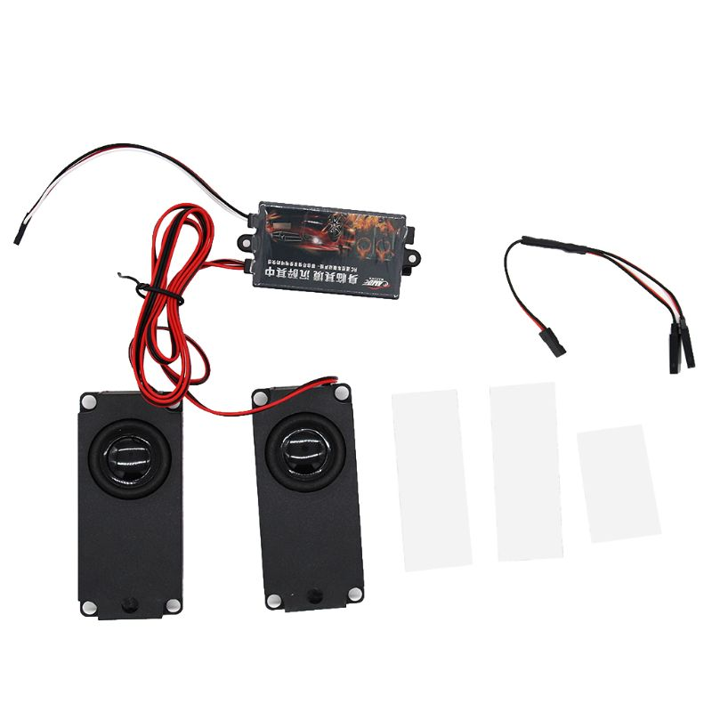 RC Car Cool Throttle Linkage Groups Engine Sound Simulator with 2 Speakers|Parts & Accessories| |  - title=