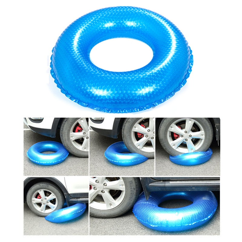 Adult Children\'s Swimming Inflatable Durable Thicken Rubber Ring Float Outdoor Summer Pool Float Water Party Toy