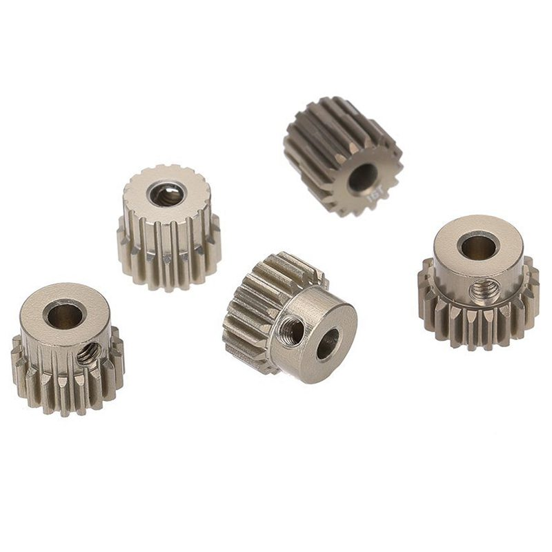 48DP 3.175mm 16T 17T 18T 19T 20T Pinion <font><b>Motor</b></font> <font><b>Gear</b></font> for 1/10 <font><b>RC</b></font> Car Brushed <font><b>Brushless</b></font> <font><b>Motor</b></font> image