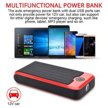 AOZBZ 8000mah Dual USB power Emergency DIY Автомобильный Премиум комплект пускового устройства Зарядное устройство автомобильный комплект пускового устройства