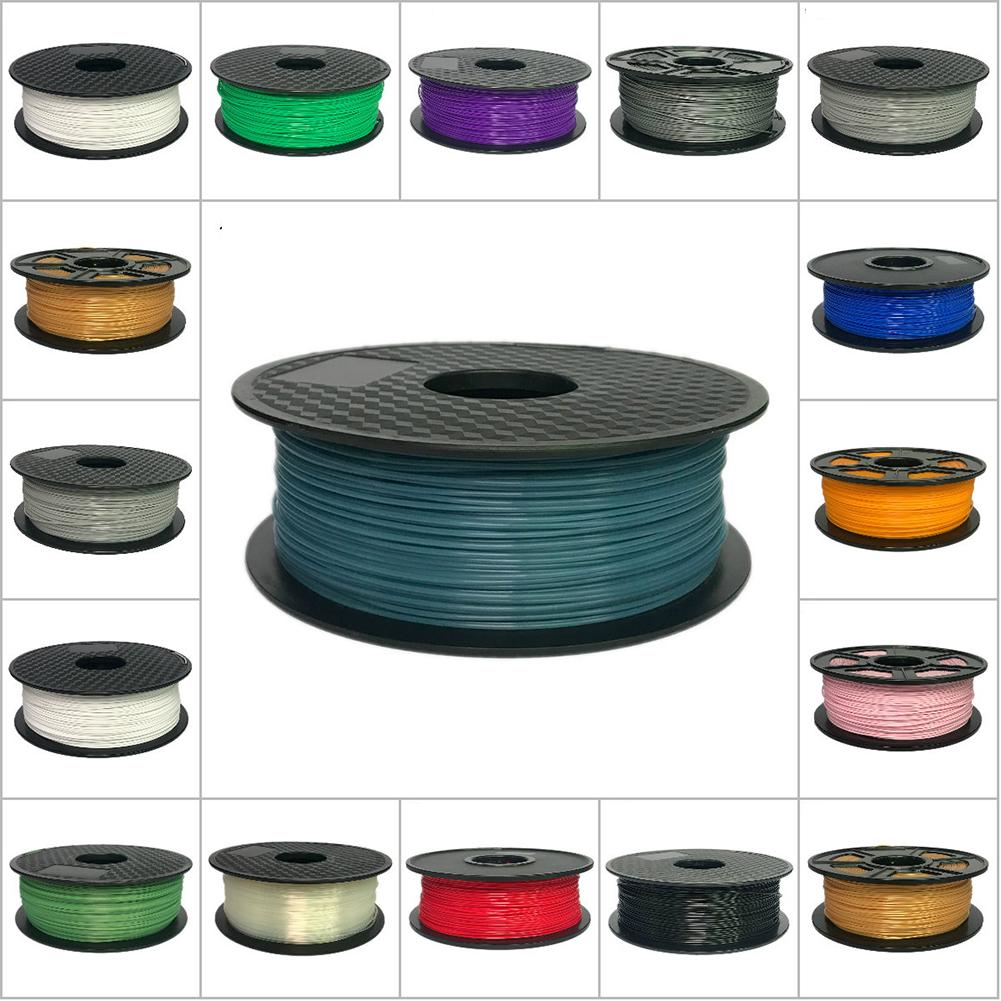 Filamento de impresora 3D ABS 1,75mm/3,0mm 1kg consumibles de plástico 3d Material filamento 3d USA NatureWorks