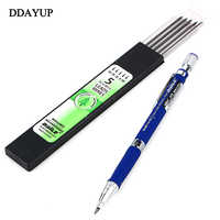 2.0 mm 2B Lead Refill Holder Mechanical Pencil Set Drafting Drawing Pencil For Writing Accessories Stationery