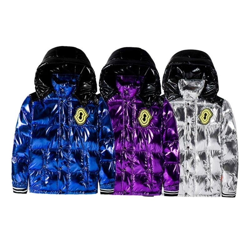 Hommes femmes chaud épaississement manteau nouvelle veste à capuche d'hiver simple boutonnage coupe vent coton vestes Outwear élégant mâle sport manteaux - 3