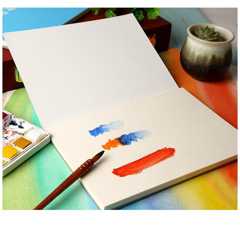 Viajar sketchbook aquarela livro, simplicidade desenhada à