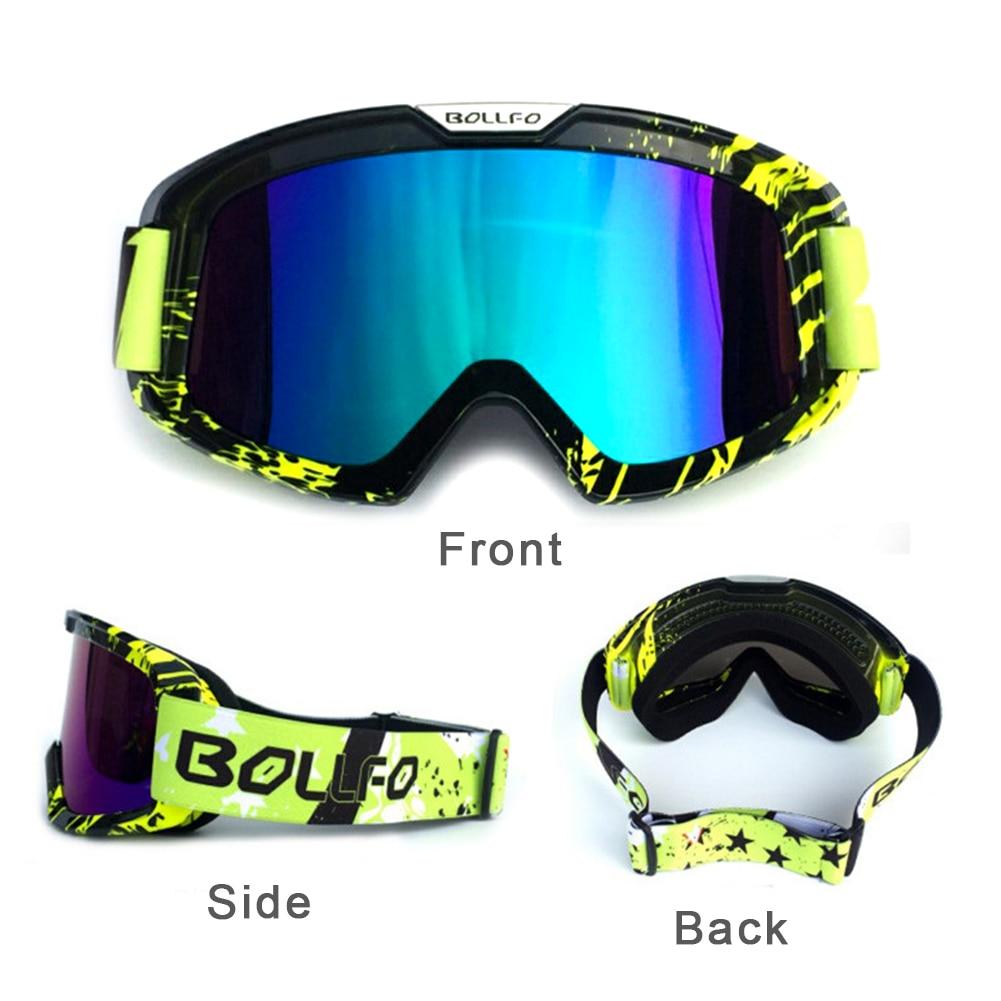 Alta qualidade óculos de esqui camadas duplas