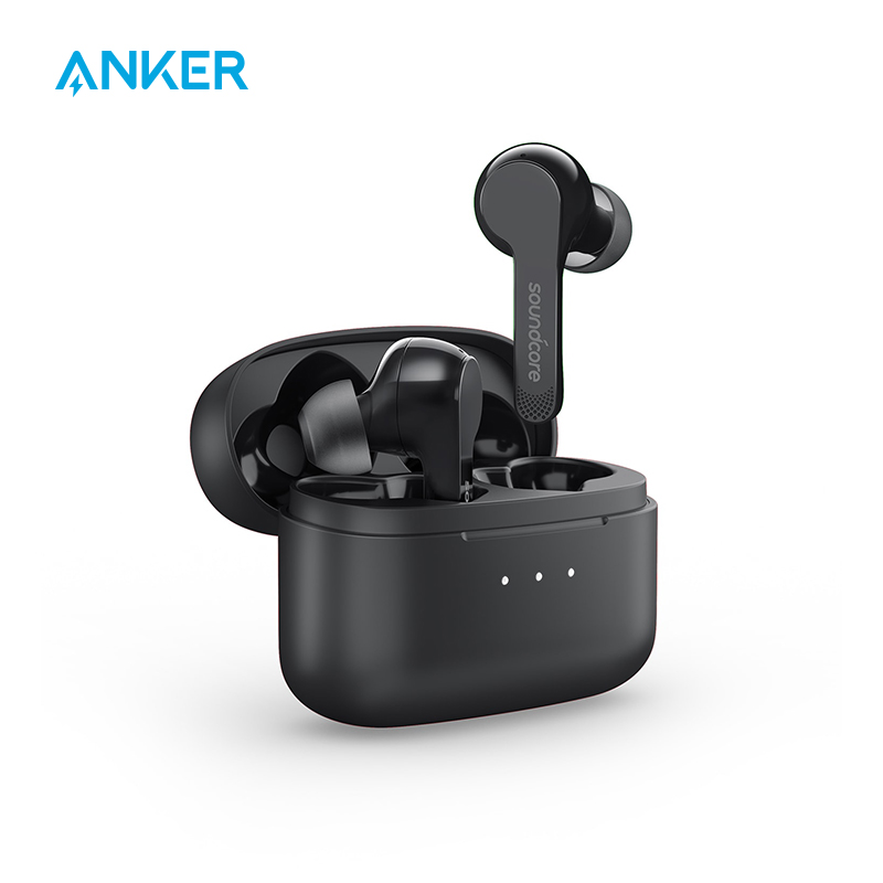 Anker Soundcore Liberty Air TWS True Wireless Earphones with Bluetooth 5 Touch Control and Noise-Cancelling Micro