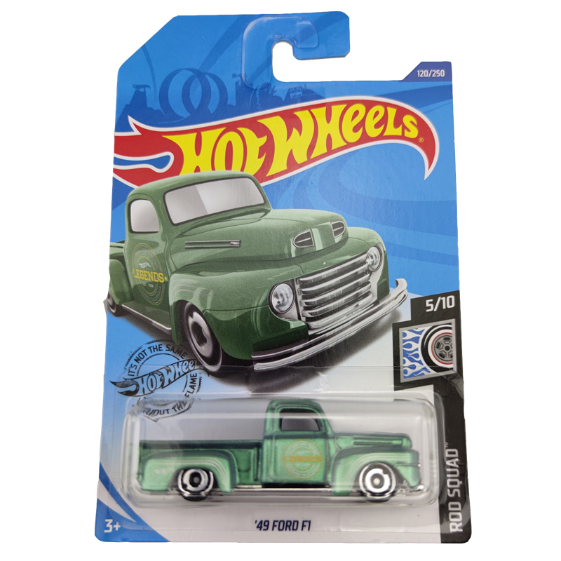 2020-120 Hot Wheels 1:64 Car 49 FORD F1  Metal Diecast Model Car Kids Toys Gift