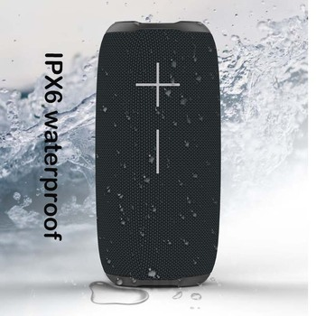 HOPESTAR-P20 waterproof Bluetooth speakers 20W TWS super bass subwoofer portable audio 2400mAh battery With mobile power FMradio - discount item  31% OFF Portable Audio & Video