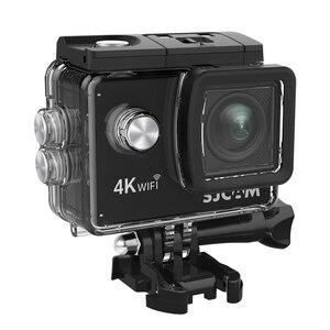 "Image 4 - Original SJCAM SJ4000 AIR Action Camera Full HD Allwinner 4K 30FPS WIFI 2.0"" Screen Mini Helmet Waterproof Sports DV Camera"
