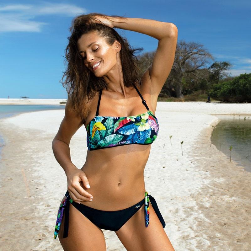 Hef58264745e54f67af630ce22ed2d033y 2019 Sexy Bikini Set Three Piece Swimsuit Women Push Up Swimwear Brazilian Bathing Suit Beachwear Swimming Suit For Women Bikini