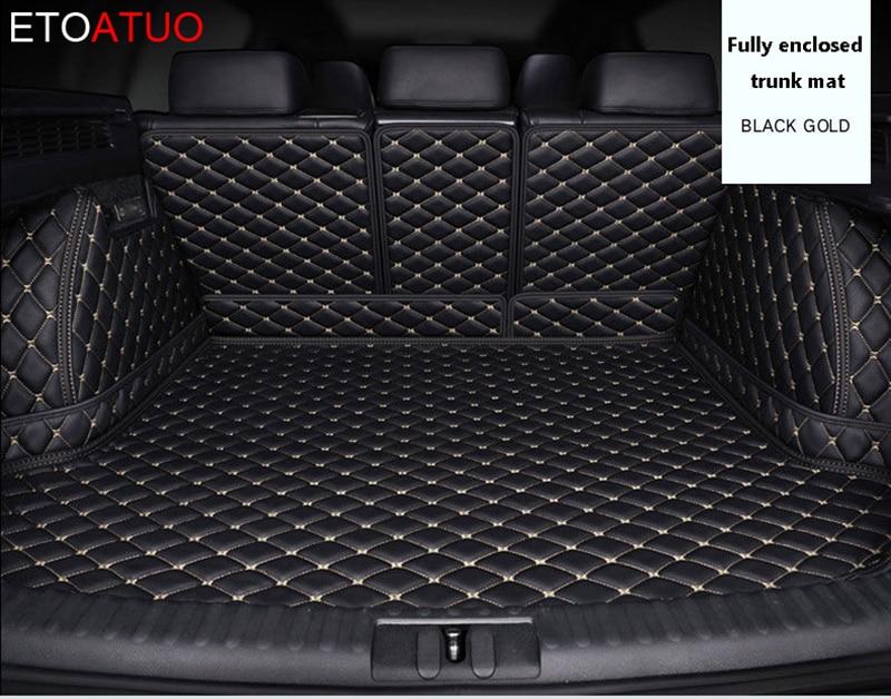 Tapis de coffre de voiture personnalisé pour Volvo tous les modèles s60 v40 xc70 v50 xc60 v60 v70 s80 xc90 v50 c30 s40 tapis de sol personnalisés voiture