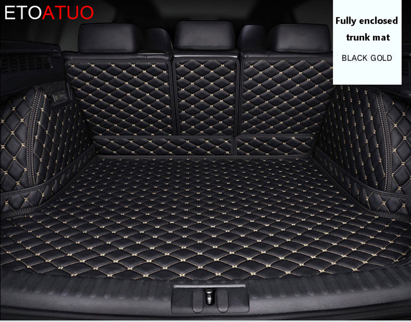 custom car trunk mat Cargo Liner for Peugeot All Model 3008 206 307 207 2008 408 308 508 301 4008 RCZ 301 sw styling accessorie