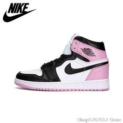 Nike Air Jordan 1 OG Verboten AJ1 frauen schuhe Basketball Schuhe, original Männlichen Outdoor Leder Sport Turnschuhe EUR 36-39