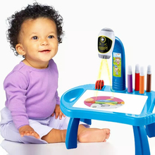 Toy-Board Table-Toy Projector Crafts Painting Desk-Arts Drawing-Table Educational-Learning-Toy