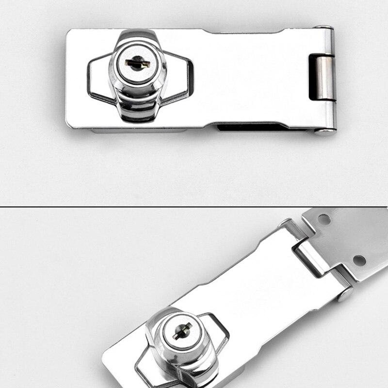 Keyed Haspe Lock Twist Knob Keyed Locking Haspe für Kleine Türen Schublade Schrank OCT998