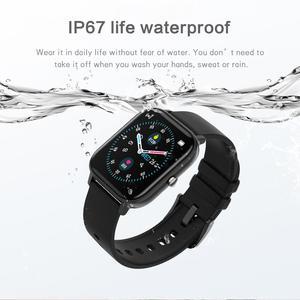 Image 5 - ساعة P8 pro متصلة ، شاشة تعمل باللمس 1.4 بوصة عالية الدقة ، درجة حرارة الجسم ، وضع رياضي متعدد ، جهاز تعقب للياقة البدنية P8T