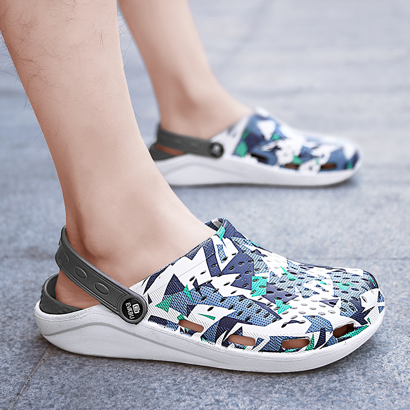 Summer Fashion Men S Sandals Hole Shoes Sandals Breathable Casual Outdoor Non Slip Beach Wild Sandals Zapatos Hombre Men S Sandals Aliexpress