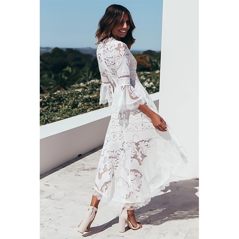 Pregnancy Clothes Lace Dress For Pregnant Photo Shoot Clothing Elegant V Neck Dress Boho Vestidos Women Clothes Buy At The Price Of 13 14 In Aliexpress Com Imall Com