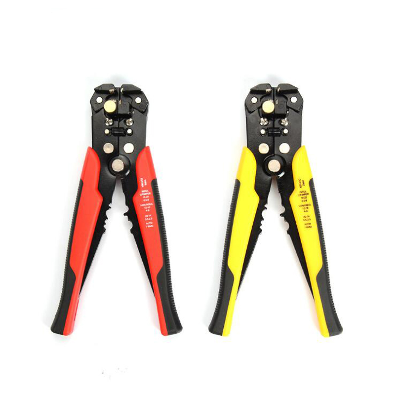 3 In 1 Self-Adjusting Cable Wire Stripper Cutter Crimper Crimping Stripping Multifunctional Automatic Electric Terminal Tool