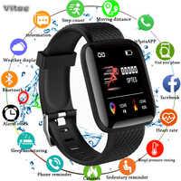 Astuto Della Vigilanza di Sport di fitness braccialetto attività tracker heart rate monitor di pressione sanguigna per ios Android Uomini/Donne Braccialetto di Salute