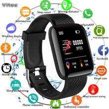 Smart watch sport bransoletka fitness aktywny tracker tętna monitor ciśnienia krwi dla ios Android mężczyźni kobiety opaska do monitorowania stanu zdrowia tanie tanio vitog Passometer Fitness tracker Uśpienia tracker Wiadomość przypomnienie Przypomnienie połączeń Budzik Kalendarz