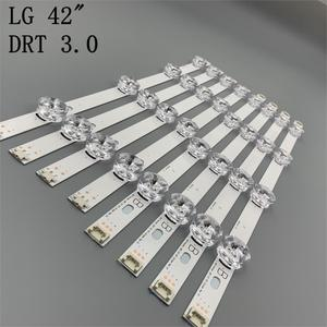 Image 1 - New 8pcs/set LED strip Replacement for LG LC420DUE 42LB5500 42LB5800 42LB560 INNOTEK DRT 3.0 42 inch A B 6916L 1710B 6916L 1709B