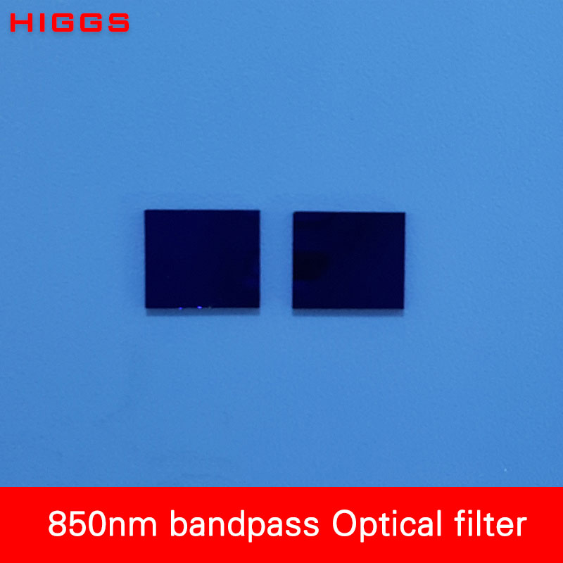 High Quality Narrow Bandpass 850nm Optical Filter Glass Windows Two Size Chose Laser Receiver Accessories Customizable
