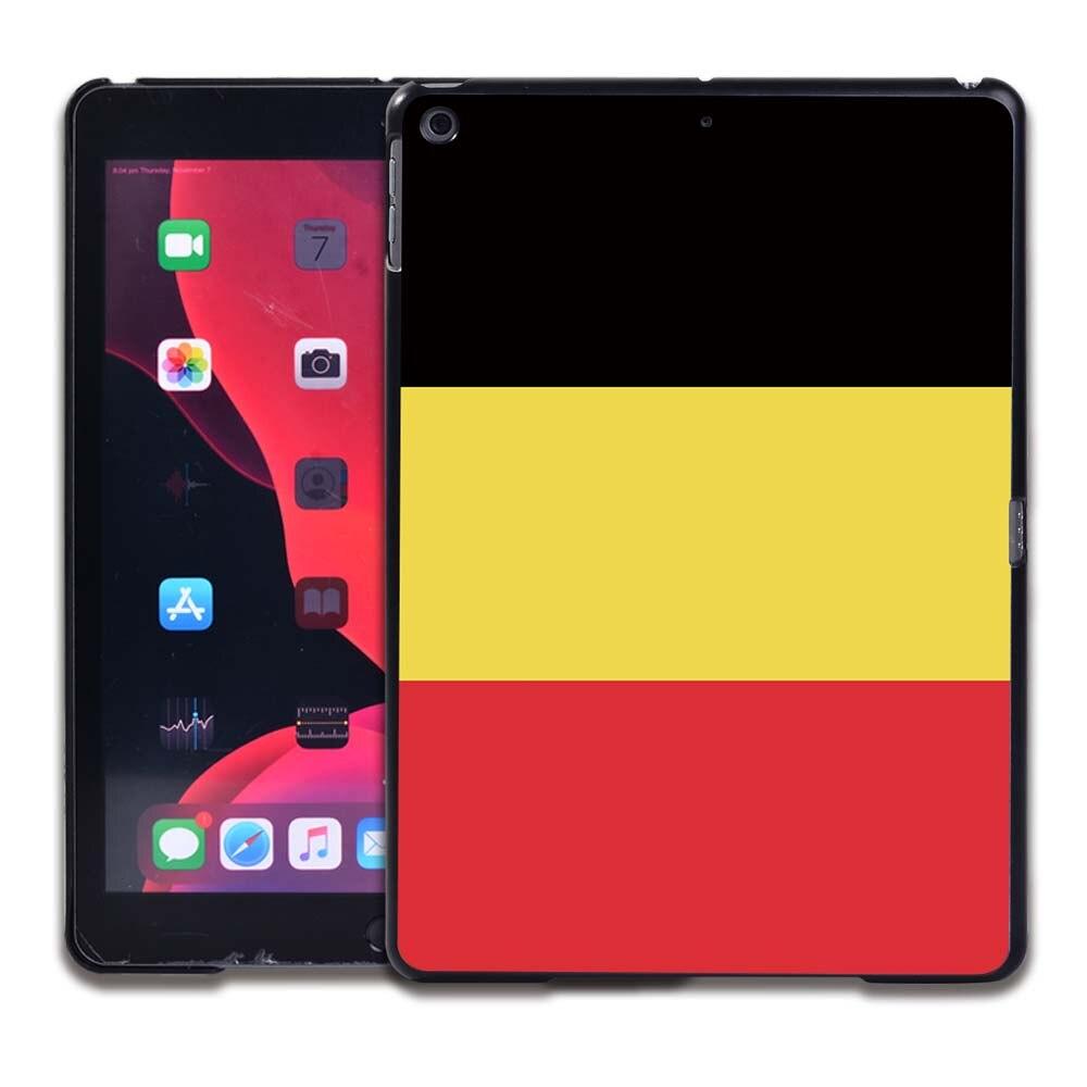 7.Belgian flag Orange Tablet Hard Back for Apple IPad 8 2020 8th Gen 10 2 A2270 A2428 Z2429 Z2430