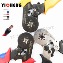HSC8 6-4 European tubular insulated terminal crimping pliers needle cold crimping terminal crimping pliers