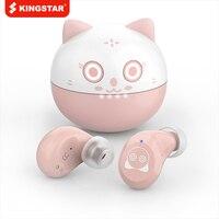 KINGSTAR cuffie compatibili Bluetooth T13 auricolari Wireless in-Ear auricolari resistenti al sudore cuffie sportive microfono incorporato