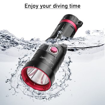 IPX8 Waterproof Professional LED Diving Flashlight XHP70 Diving Torch Underwater Lamp XHP70.2 Scuba Flashlight Diving Lamp Light z20 new led flashlight 2000lm cree t6 led waterproof underwater scuba dive diving flashlight torch light lamp for diving light