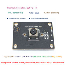 HBVCAM USB Camera Module free shipping Micro usb2.0 Sensor IMX179 auto focus camera module 8MP цена